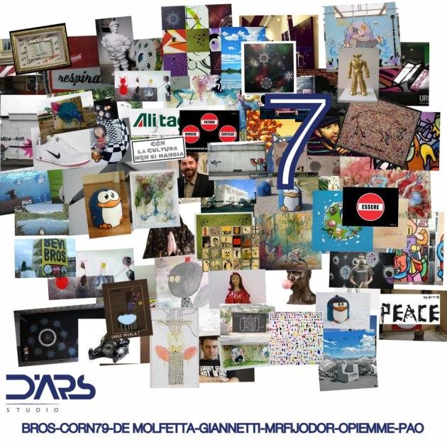 7 Arte Contemporanea Mrfijodor COrn79 Bros Pao Opiemme Giannetti