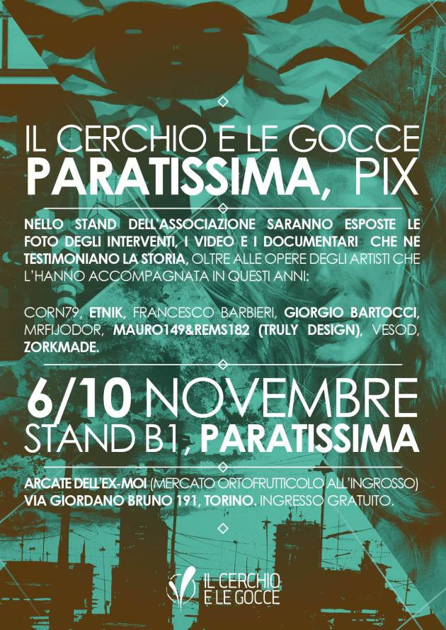 Paratissima  ex-MOI Torino