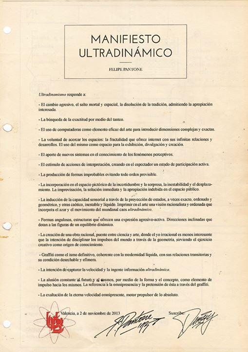 ULTRADYNAMIC MANIFESTO