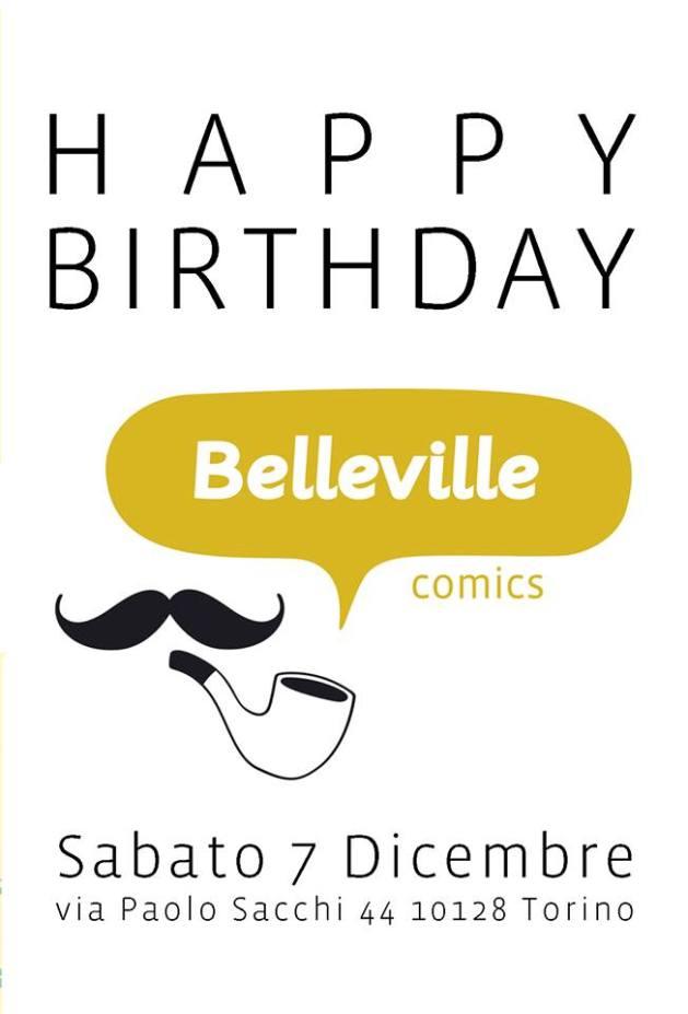 Belleville comics torino