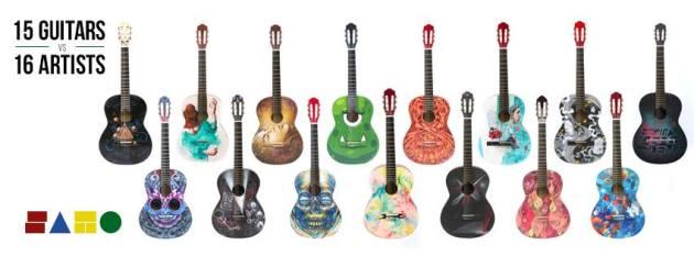 samo 15 Guitars
